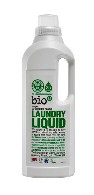 Bio-D Laundry Liquid with Fresh Juniper 1 Litre