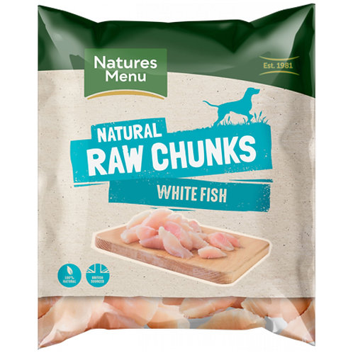 Natures Menu - Fish Fillet Chunks for Dogs - 1Kg