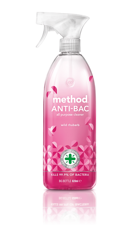 Method Anti-Bac All Purpose Cleaner - Wild Rhubarb - 828ml