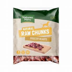 Natures Menu - Poultry Heart Chunks - 1Kg
