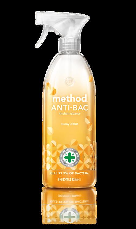 Method Anti-Bac Kitchen Cleaner - Sunny Citrus - 828ml