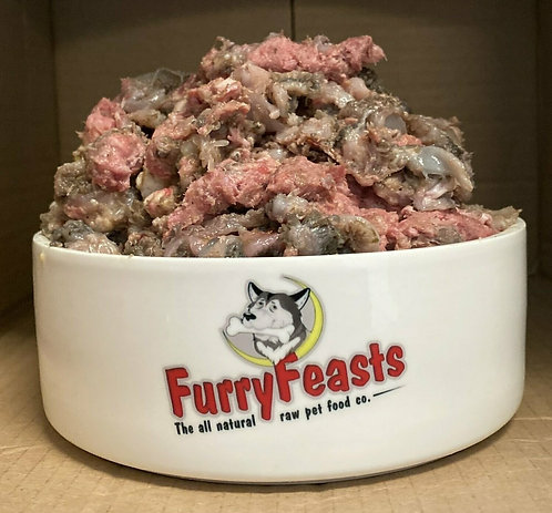 FurryFeasts - Pork And Lamb Tripe Complete 80/10/10 - 500g