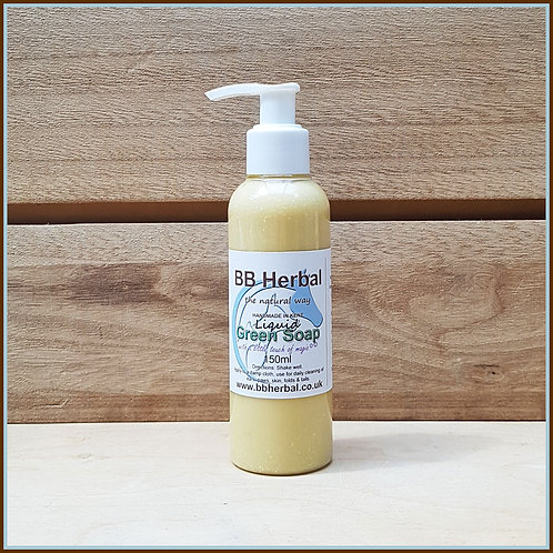Liquid Green Soap - 150ml
