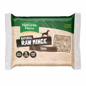 Natures Menu - Just Tripe Raw Mince for Adult Dogs - 400g