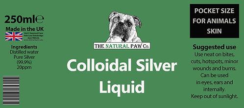 The Natural Paw Company - Colloidal Silver Liquid - 250ml