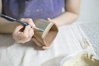 Cerâmica de pintura