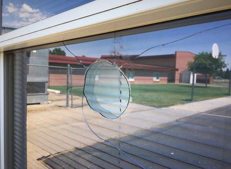 Hazards of Broken Windows in a School