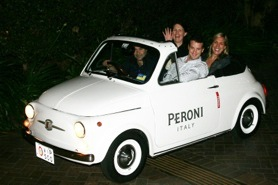 Peroni launch