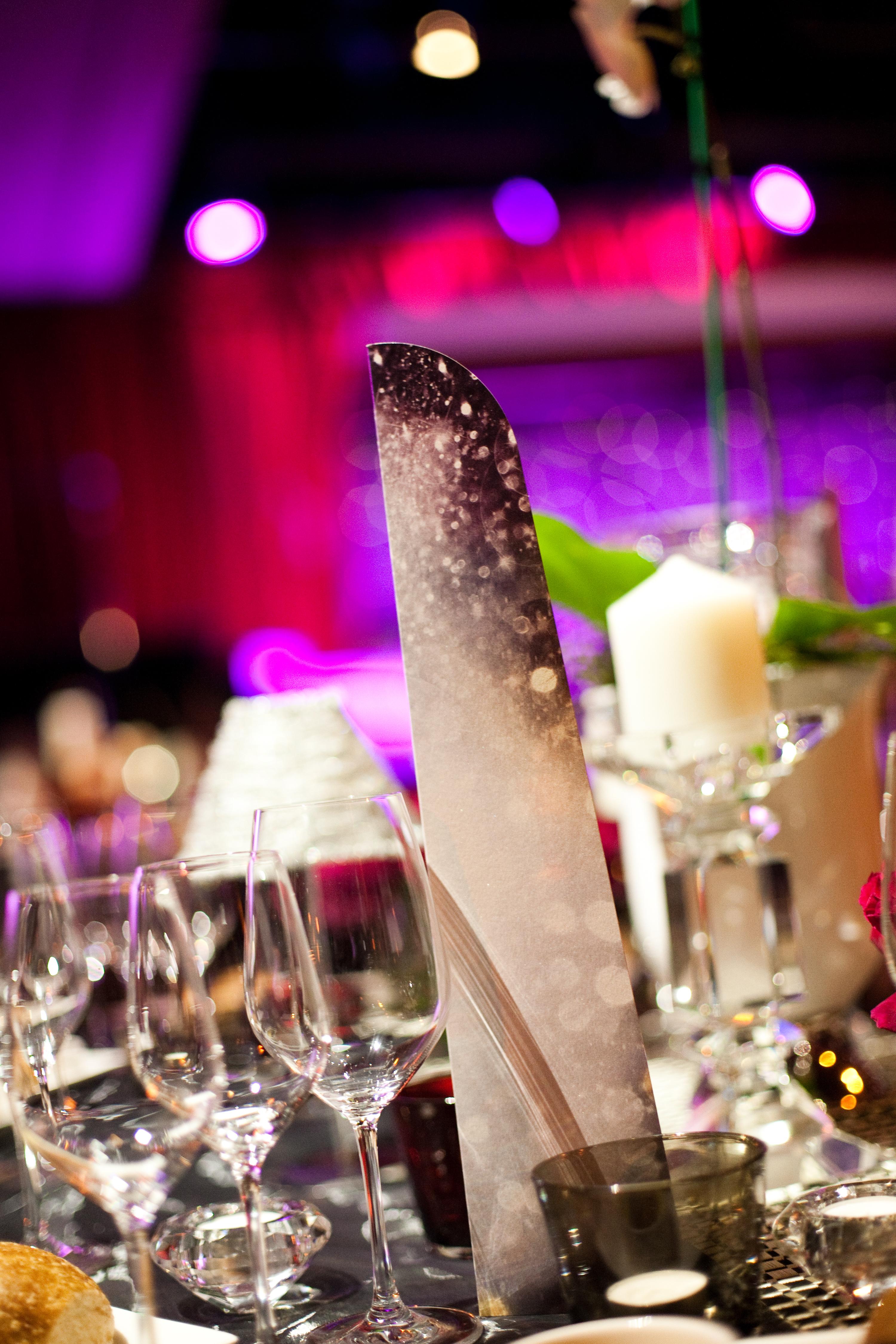 Gala dinner spaces