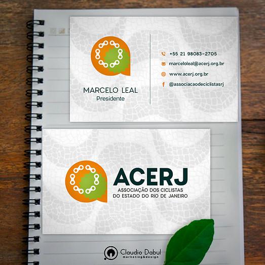 Cartão corporativo para ACERJ.