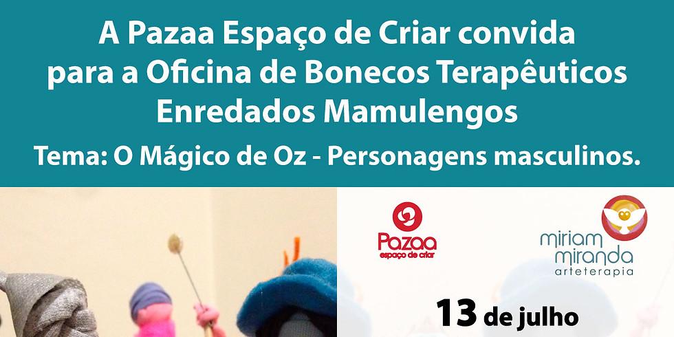 Oficina de Bonecos Terapêuticos - Enredados Mamulengos
