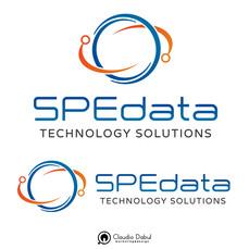 Criação da identidade visual para empresa de TI SPEdata.