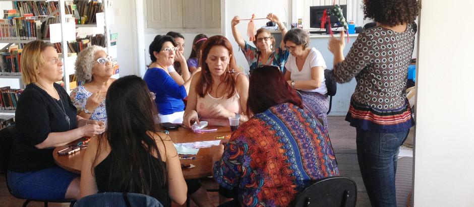 Workshop Coração de Nós Marias, novas redes em multiplicação
