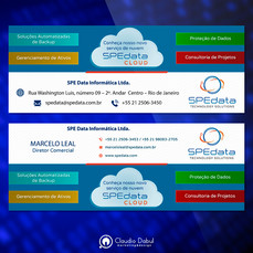 Assinatura de e-mail para empresa de SPEdata.