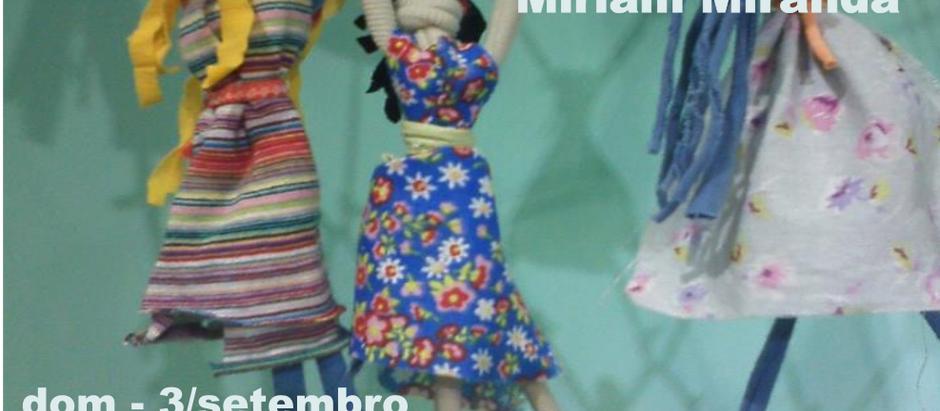 Nova itinerância da obra Coração de Nós Marias da artista Miriam Miranda
