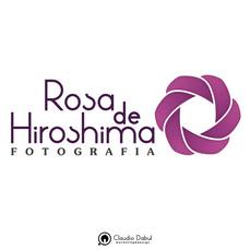 Criação da logo para Rosa de Hiroshima Fotografia.
