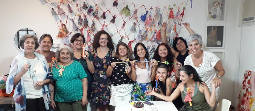 Workshop Enredadas no Amor inaugura o novo espaço Pazaa com muita alegria!