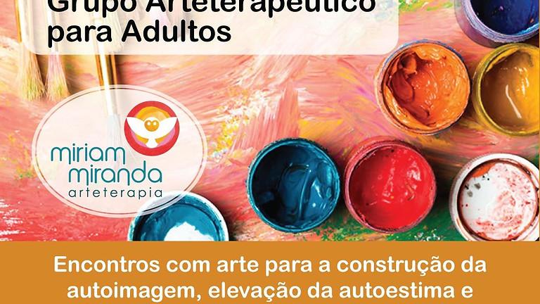 GRUPO ARTETERAPÊUTICO ON-LINE