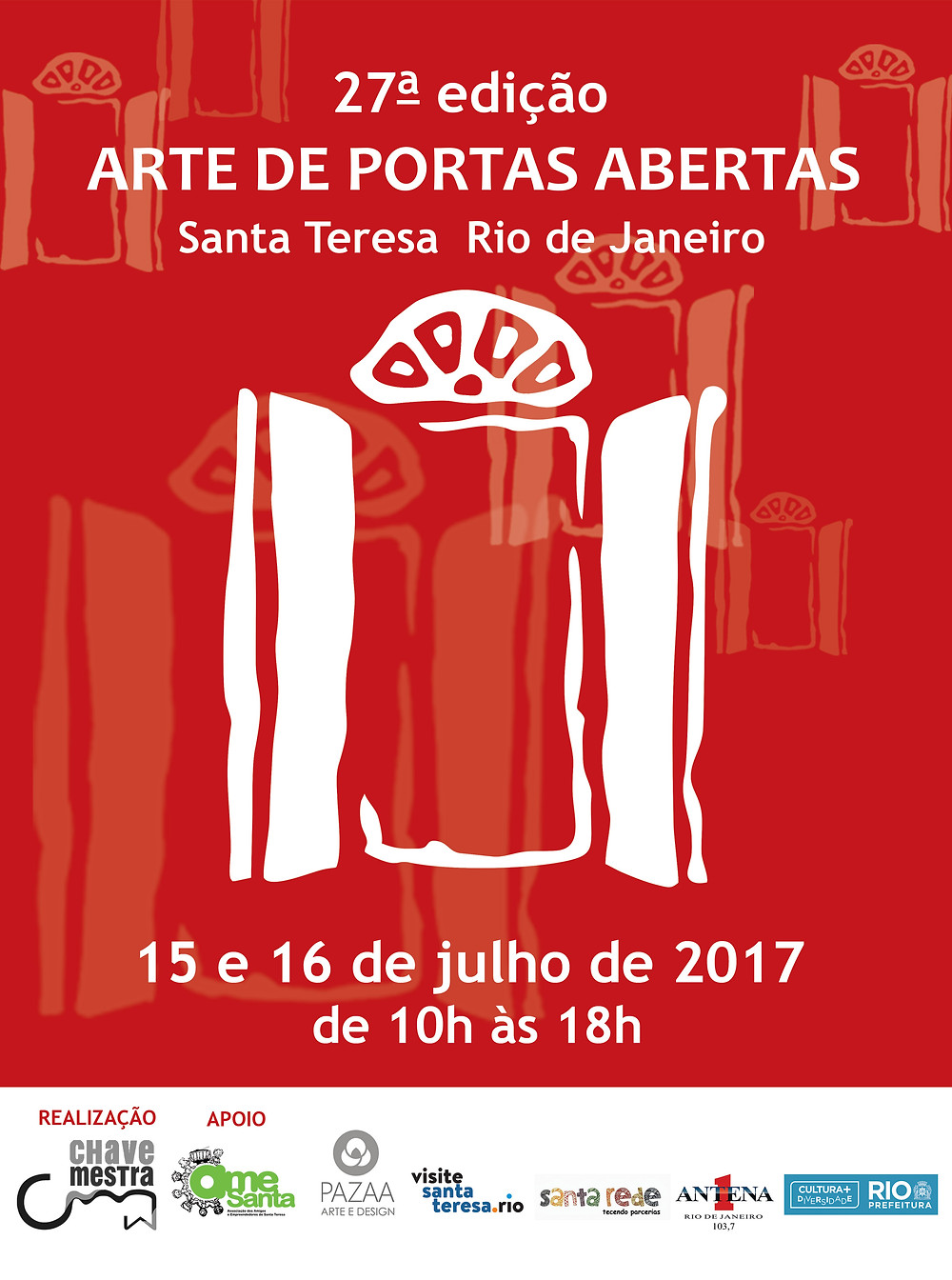 Arte de Portas Abertas 2017