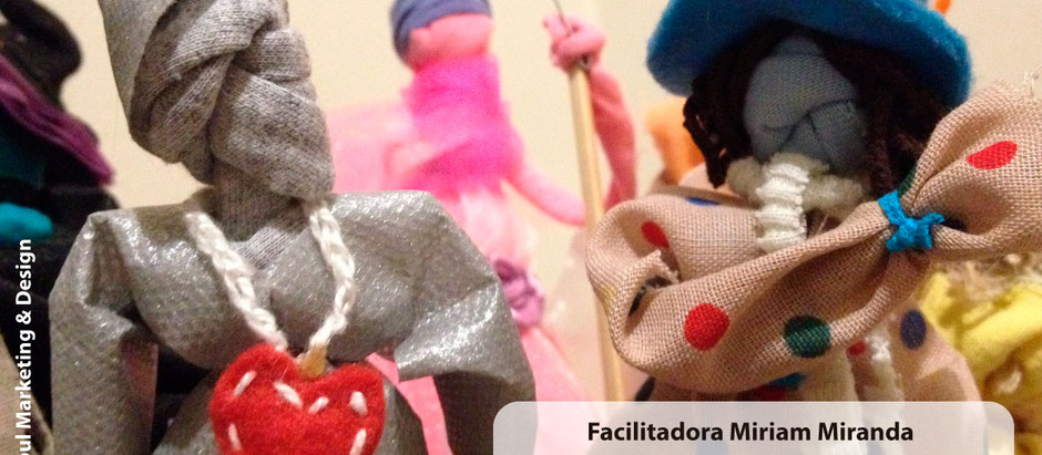 Oficina de Bonecos Enredados Mamulengos - 13/07 na Pazaa Espaço de Criar.