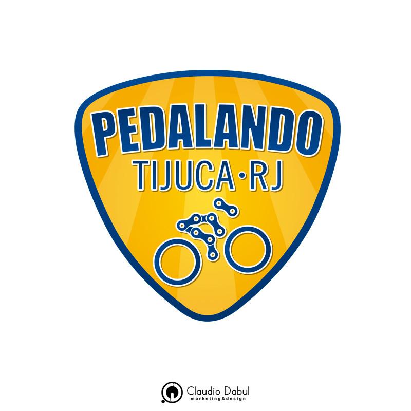 Criação da logo para o grupo de ciclismo Pedalando Tijuca.