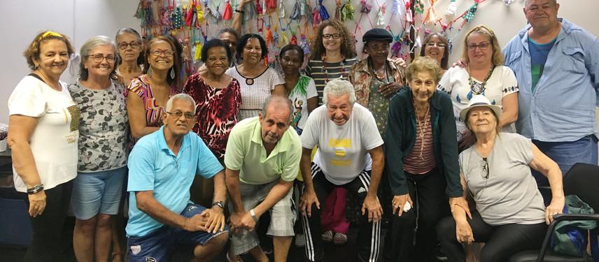 Projeto Enredadas no Amor no SESC Madureira.