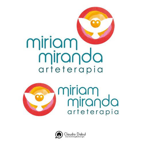 Identidade visual para a empresa de arteterapia Miriam Miranda.   O projeto contou com a criação de tipologia própria para a empresa.