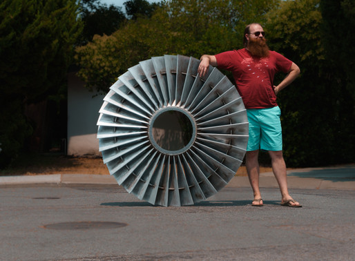 3D printed turbine bypass fan! (Maybe a little larger than most)