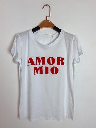 Tshirt  manche courte «Amor Mio»
