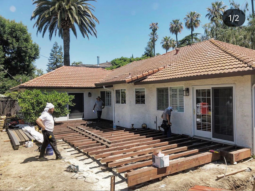 Deck builder San Jose CA