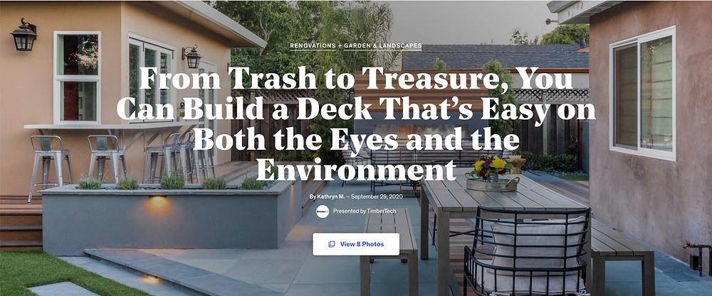 Modern landscape design San Jose CA