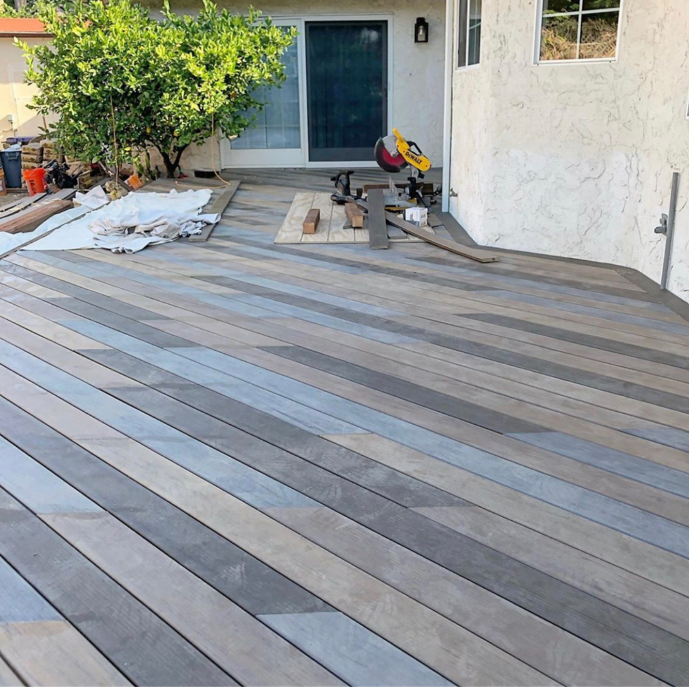 timber tech composite decking colors