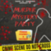 Copy of Murder Mystery Party Invitation