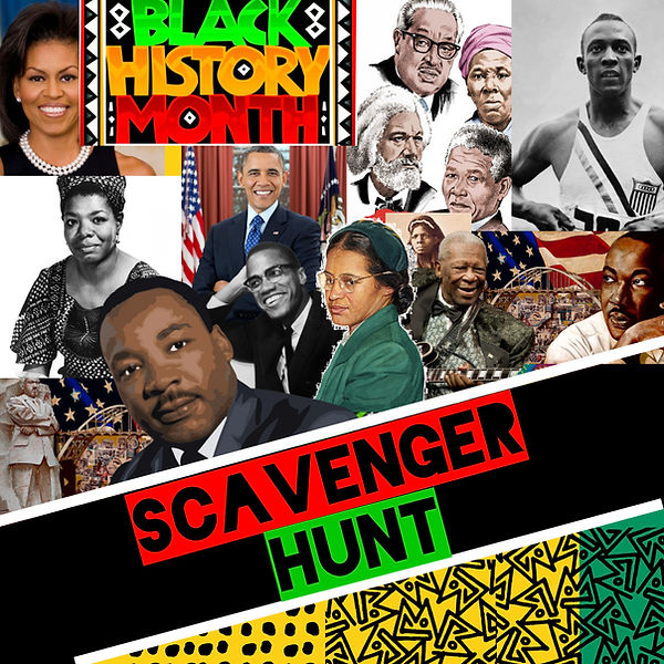 Copy of Black History Party Backdrop - M