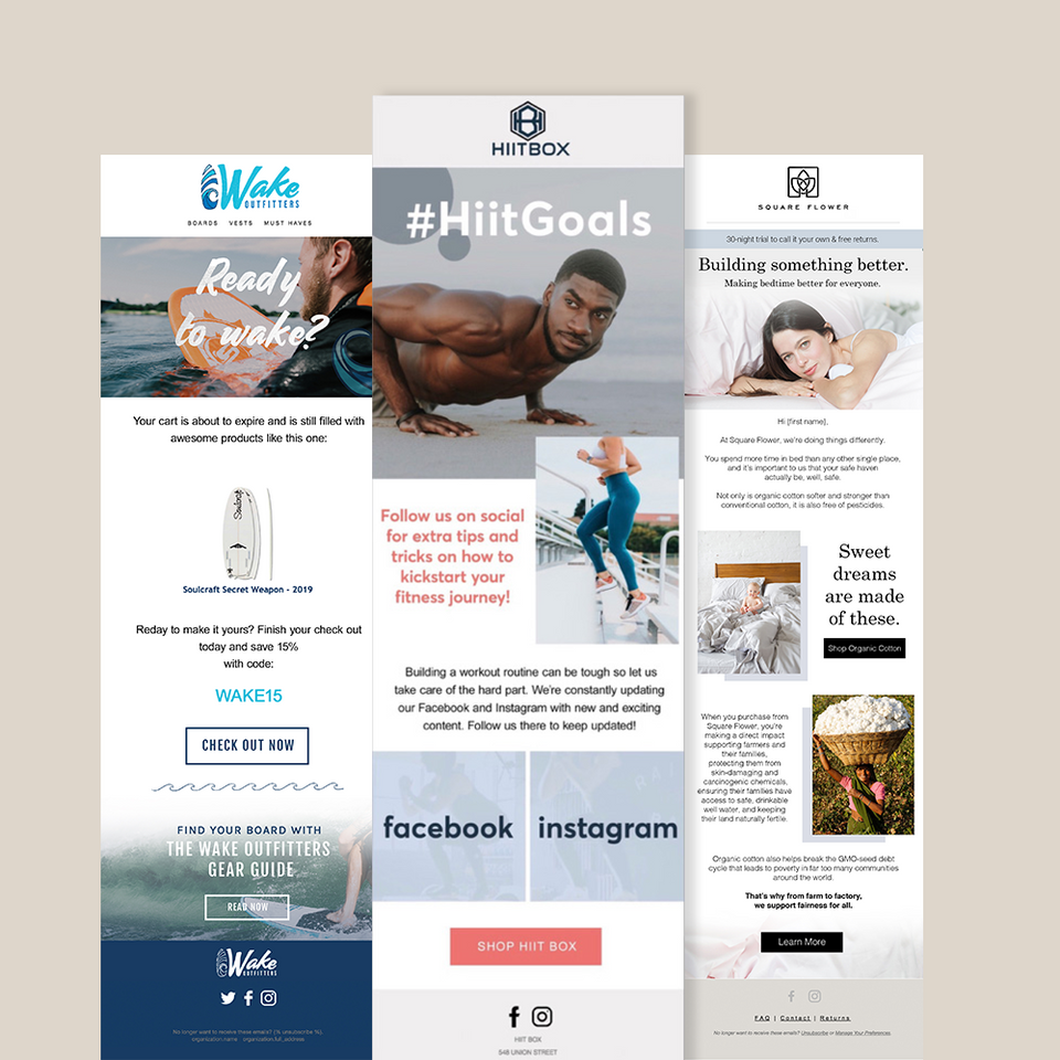 • Email Marketing