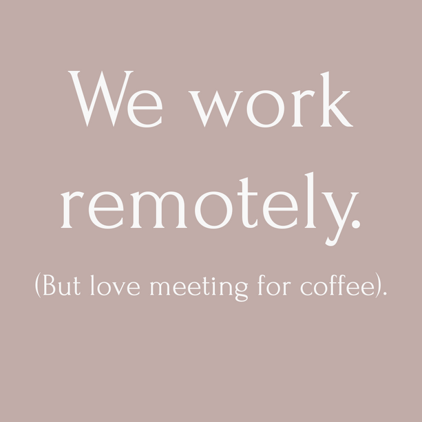 • Working Remotely