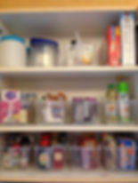 An orgnized pantry