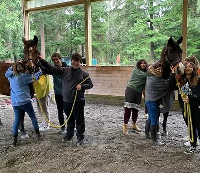Equine Workshops Inspire Students' Best Selves