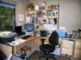 Disorganized office in Portlnd, OR