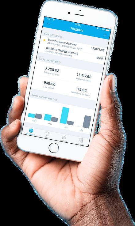 Xero Mobile Accounting