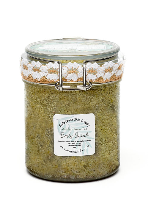 Matcha Green Tea Exfoliating Scrub (8 oz. & 16 oz.)