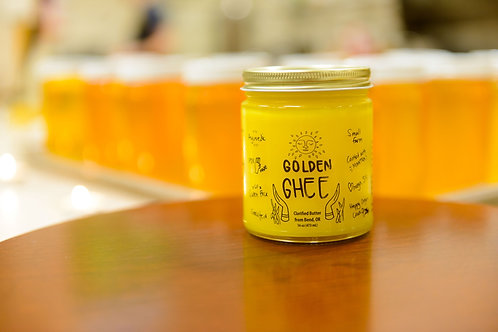 Golden Ghee - 8 ounce jar