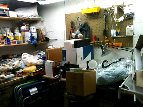 Garage needs help from Susan Weber Organizing