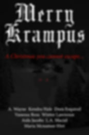 Merry Krampus BOOK COVERS PRINT - COVER.