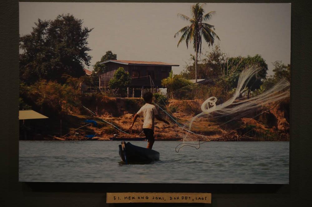 52. Mekong joki, Pak Peng, Laos