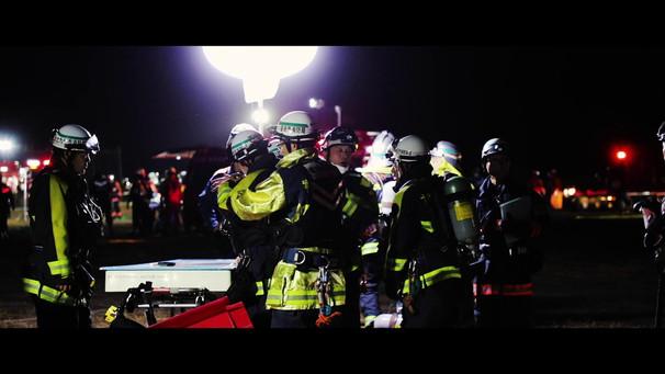 緊急消防援助隊九州ブロック合同訓練(夜間)
