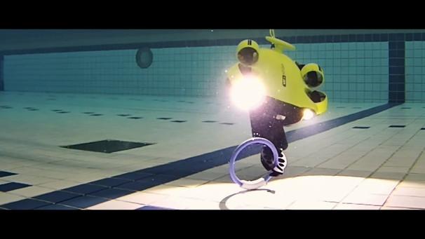 水中ドローン講習