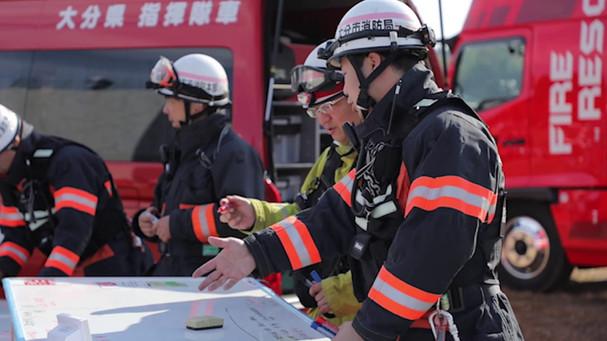 緊急消防援助隊九州ブロック合同訓練