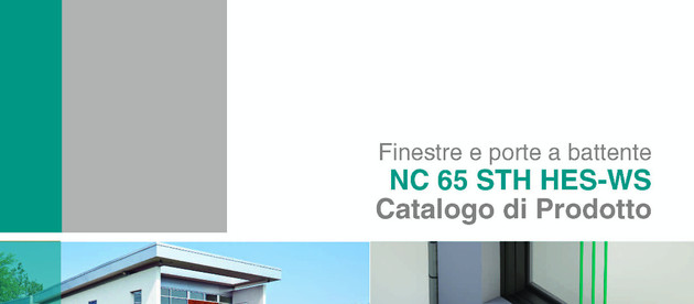 Catalogue update of the series NC65STH HES WS – NC75STH HES WS / BURGLAR PROOF SYSTEMS