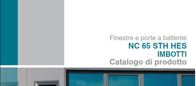 New catalogue NC65STH HES - IMBOTTI (INTRADOS)